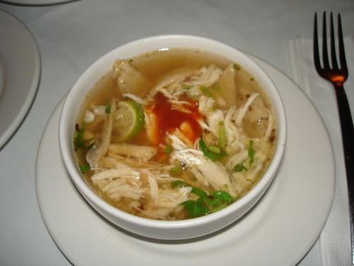 Lime Soup - Sopa de Lima