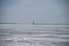 The Lighthouse (sunny00_04) Tags: winter lighthouse lake snow ice wisconsin bay nikon greatlakes lakesuperior icefishing chequamegonbay ashlandwi d80 nikond80