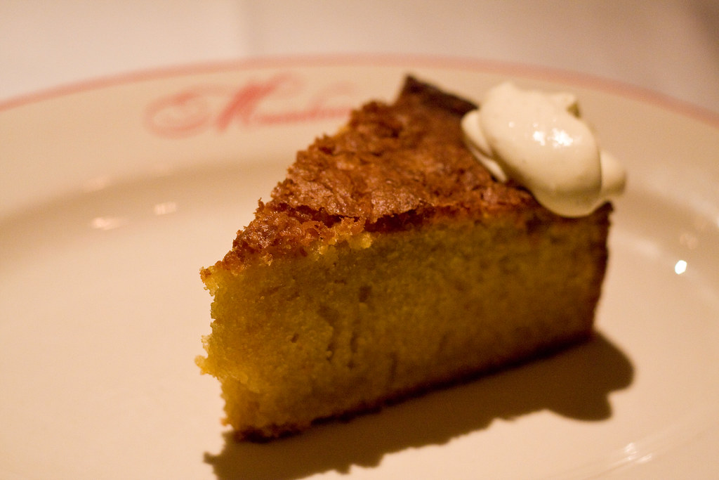 Olive oil cake, Maialino