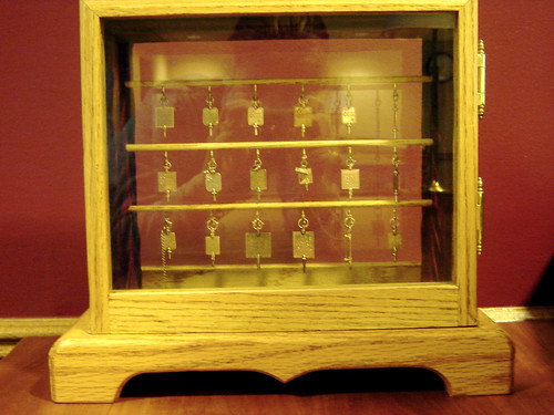 The Phi Beta Kappa keys used annually in the Phi Beta Kappa ceremony