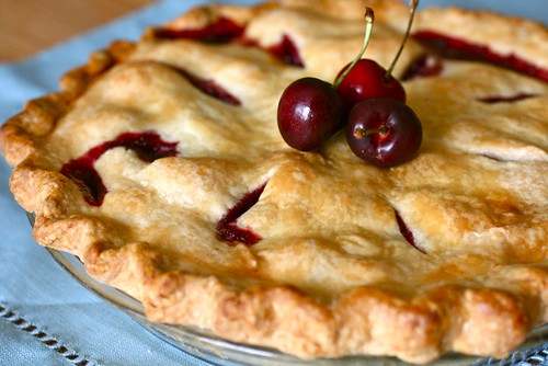 Sweet Cherry Pie Recipe — Dishmaps