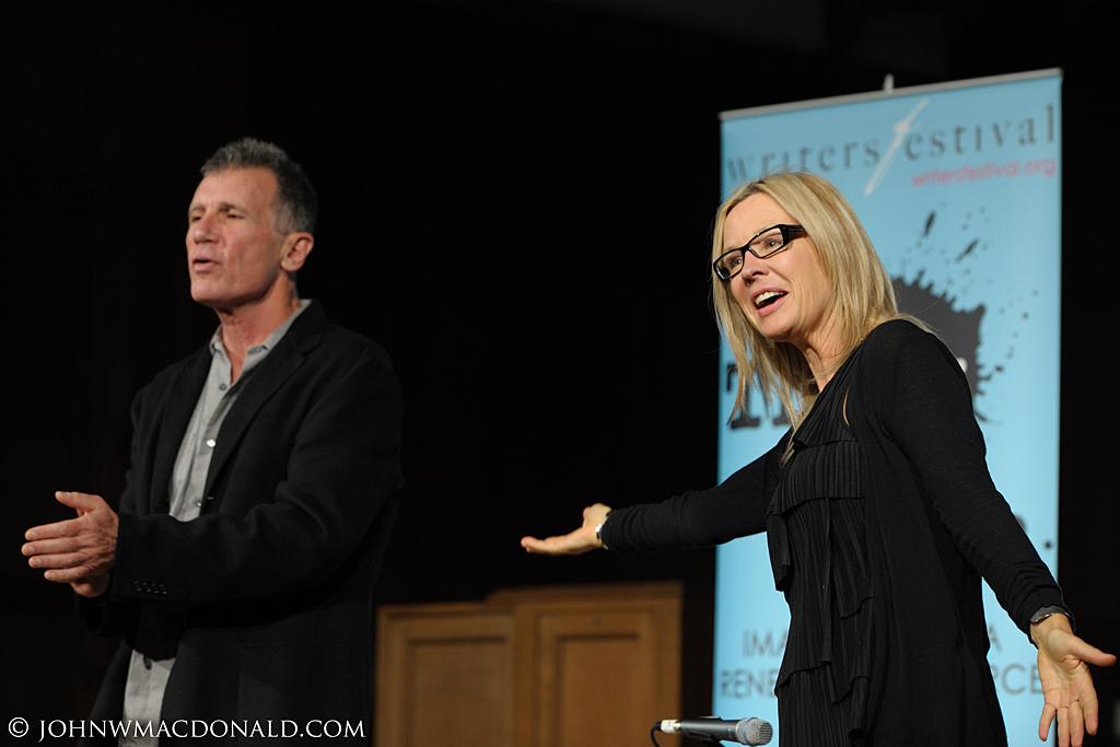 Michael Cunningham & Sandra Abma