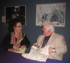 Sophie Hannah and Val McDermid