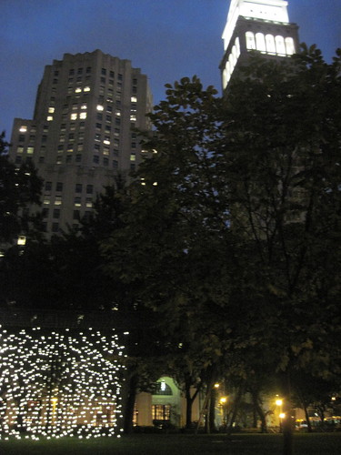 Scattered Light in Madison Square Park
