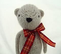 DSC06434 (yarniganrachel) Tags: holiday classic wool toy stuffed natural handmade knit plush softie etsy knitted 2010 yarniganschristmas