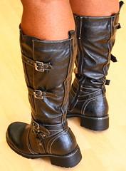T's Biker Boots 6