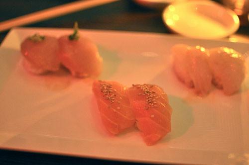 Albacore, Salmon, Snapper trio