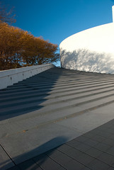 """JFK Library at Sunrise  - 11 • <a style=""""font-size:0.8em;"""" href=""""http://www.flickr.com/photos/54135982@N06/5136826906/"""" target=""""_blank"""">View on Flickr</a>"""