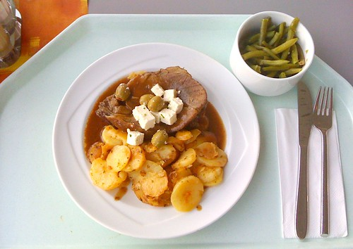 Lammbraten Griechische Art / Lamb roast greek style