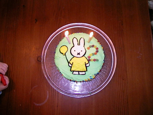 Miffy cake - Caitlin's 2nd birthday