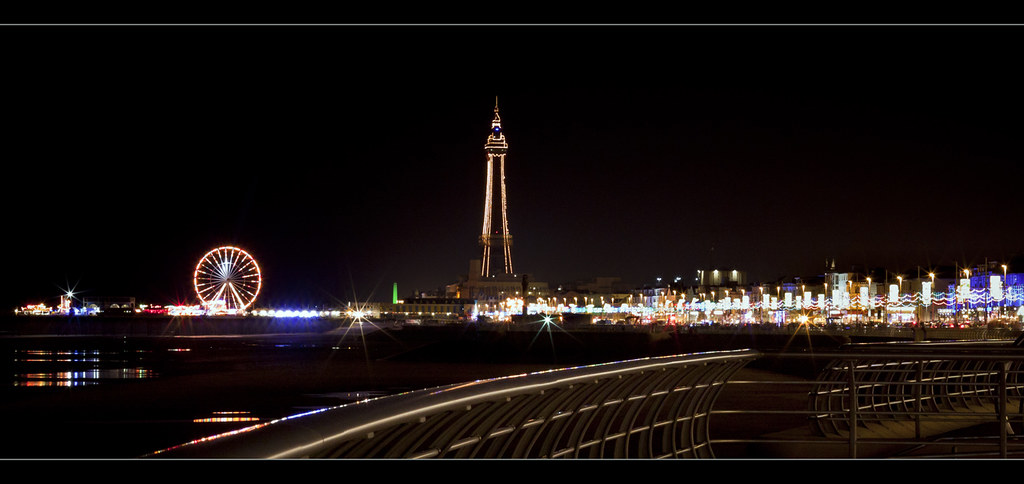 Blackpool illuminations and tower. Explore Frontpage