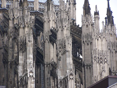 Buttresses at Cologne Cathedral