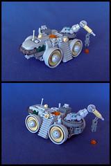 Micro Mineral Miner (Legohaulic) Tags: lego space miner microscale