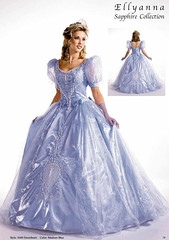 Blue Heavy Satin Ballgown (Sabrina Satin1) Tags: dress feminine fantasy crossdresser effeminate ballgown crossdressingfantasy