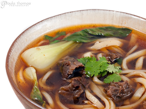 Taiwonese Beef Noodle Soup
