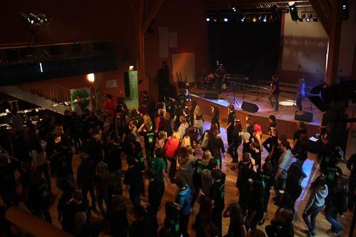 Generalprobe Flashmobdance