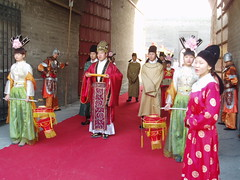 Welcoming Committee (Aidan McRae Thomson) Tags: china chinese ceremony xian welcome shaanxi citygate
