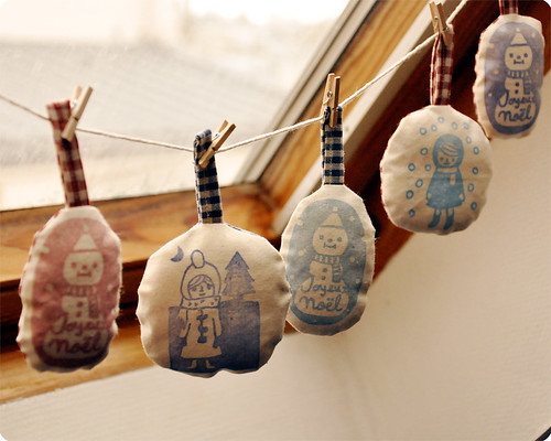 My handmade christmas ornaments