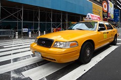 fast cab (photos_mweber) Tags: nyc newyork taxi yellowcab