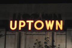 Uptown Theater sign