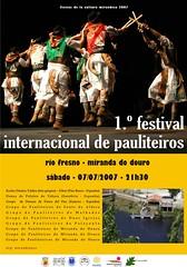 Kartela Festival de Pauliteiros