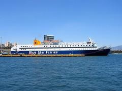 Diagoras (Dimitris G.) Tags: sea ferry port boat ship hellas greece piraeus  bluestarferries  diagoras