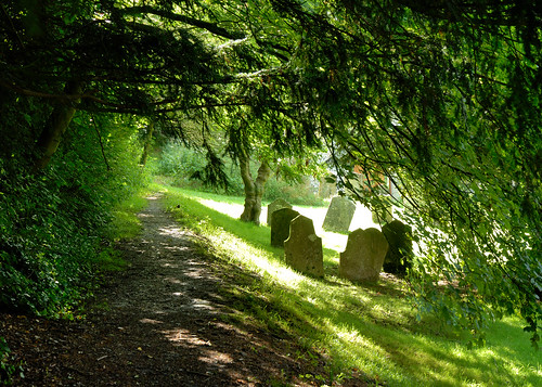 East Meon churchyard