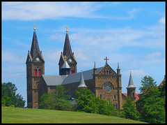 St. Meinrad Archabbey - by cindy47452