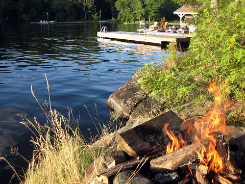 Sunday Fire and dock
