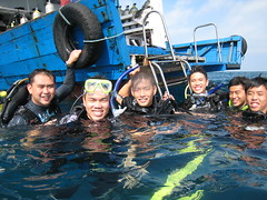 Ian & his Advanced Open Water Divers