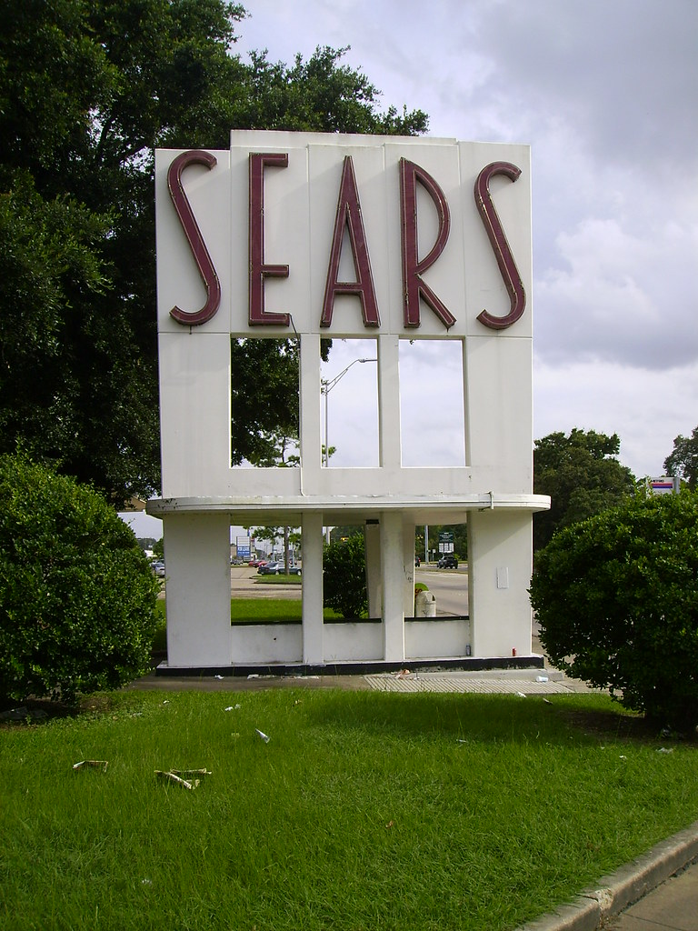 Vintage Sears Sign - Houston, TX