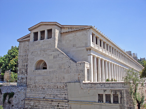 an overview of the building stoa of attalos in greece The antique agora of athens the stoa of attalos  and was the largest building in ancient greece in the 3rd century ad, the stoa was completely destroyed.