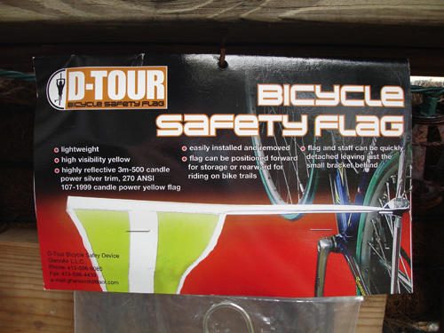 D-Tour Safety Flag package