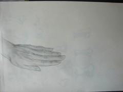 Estudio de manos (egenini) Tags: estudio lápiz