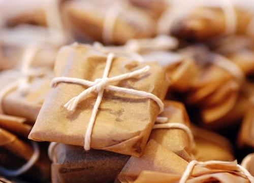 wrapped espresso caramels