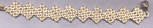 Diagonal Daisies Bracelet
