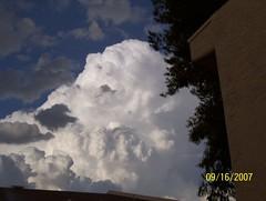 100_0516 (arizona nightowl) Tags: shadow sky cloud storm building tree rooftop nature phoenix skyline clouds landscape outside outdoors landscapes naturewalk publicviewable