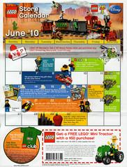 LEGO Store Calendar June 2010 - Front