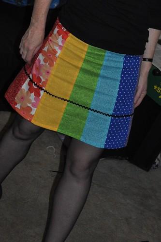 roygbiv skirt3502