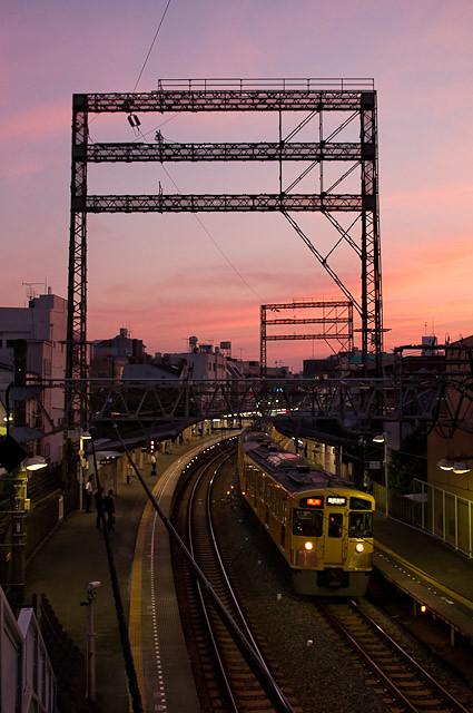西武新宿線と東電目白線。