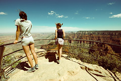 (emily golitzin) Tags: sky clouds grandcanyon nevada wideangle roadtrip nv ledge overlook sigma1020 canoneosdigitalrebelxsi