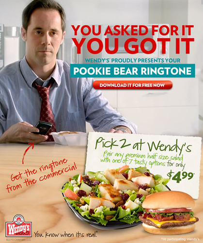 Wendy's Pookie Bear Ringtone by Callaghan Smerek