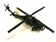 UH-60L Sikorsky Black-Hawk. (Lego Junkie.) Tags: army war lego military down blackhawk sikorsky uh60l foitsop