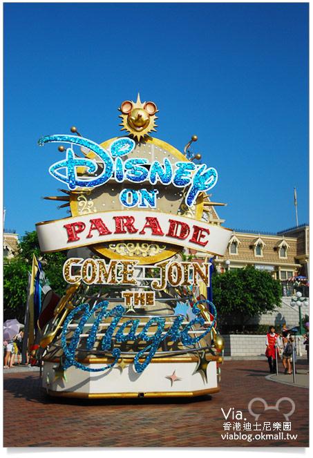 【香港迪士尼】跟著via玩香港(3)~迪士尼卡通人物歡樂巡遊6