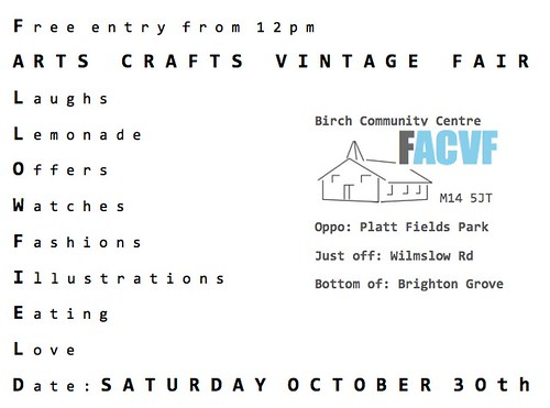 Fallowfield Arts Crafts Vintage Fair