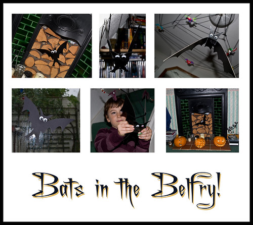 Bats in the belfry - Copyright R.Weal 2010