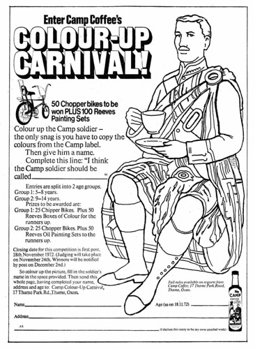 Colour in carnival pictures
