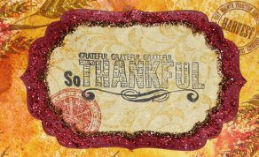 SQ - Thankful for.... Tag Book - Ink Stained Roni