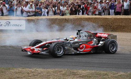Goodwood Festival of speed 2010 lewis hamilton - flckr - richebets