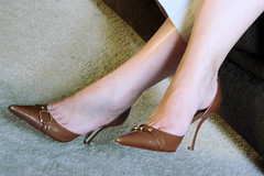 Cool and Casual (DFP2746) Tags: feet shoes heels casual conservative